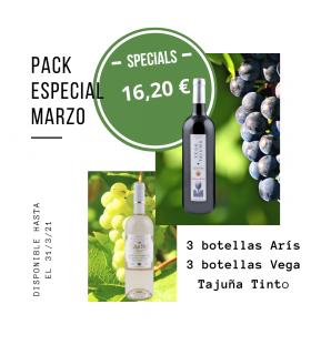 Pack oferta especial Marzo